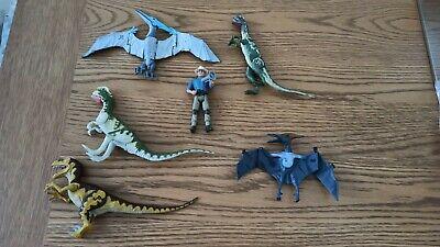 Jurassic Park Action Figure/Dinosaur Bundle