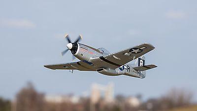 Horizon E-flite UMX P-51 BL Mustang als BNF-Set mit AS3X Spektrum Empfänger+Lipo
