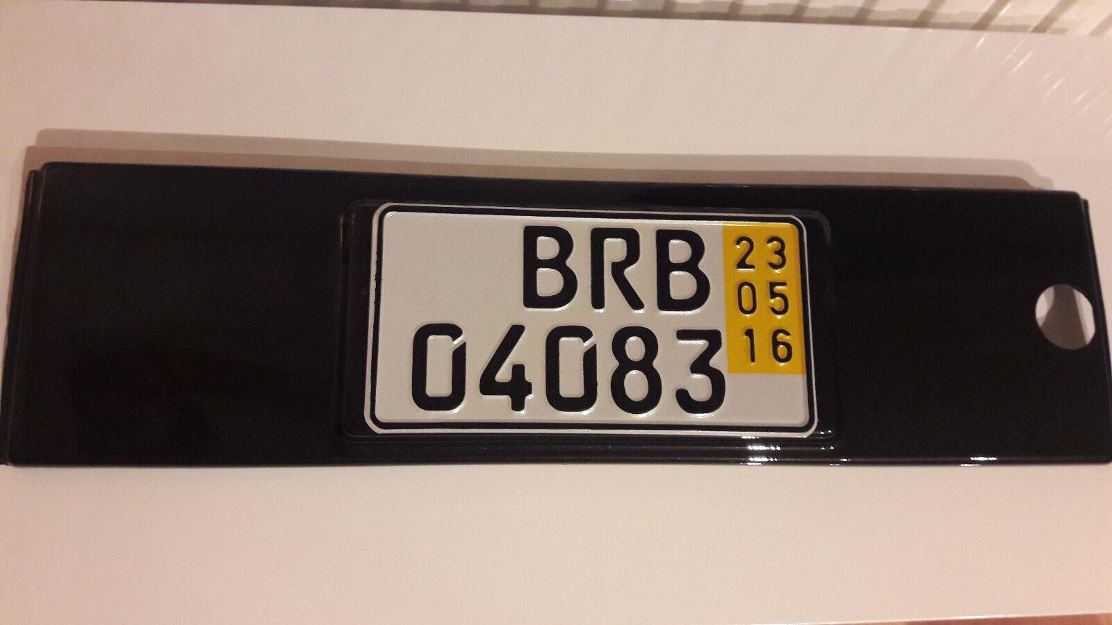 VW CORRADO US Kennzeichen Blende 535813990 beige tan Recaro ...
