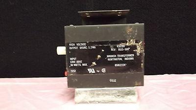 Wabash High Voltage Transformer