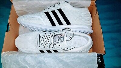 New Adidas original Mens Los Angeles Trainers White Uk10