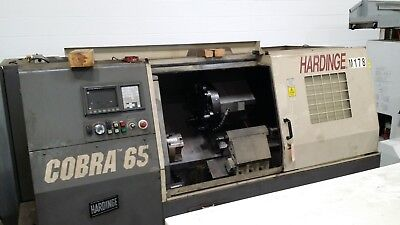 Used Hardinge Cobra 65 Cnc Lathe Turning Center Tailstock Iemca Vip 70 Fanuc 98
