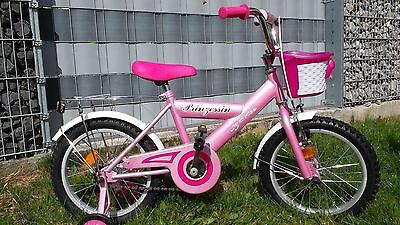 Mädchenrad Kinderrad Kinderfahrrad Mädchenfahrrad 16 Zoll Mädchen Rücktritt ()