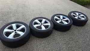 "Genuine Jeep Grand Cherokee Limited 20"" Wheels & Tyres Mount Eliza Mornington Peninsula Preview"