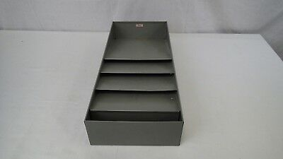 Vintage Cws Metal Desk Organizer 3 Tier In Out Paper Letter Tray Mid Century