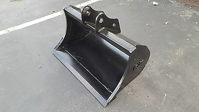 New 36 Sany Sy35 Heavy Duty Excavator Bucket Without Teeth With Coupler Pins