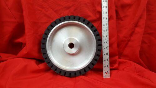 """10"""" Serrated Contact Wheel for 2x72 Belt Sander Grinder"""