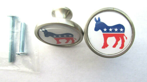 Democrat Party Cabinet Knobs, democrat donkey logo Cabinet Knobs, democratic