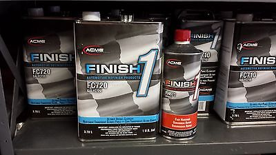 Auto Paint  Sherwin Williams Fc720 Gal Finish 1 Overall W Fast H Clear Coat Kit