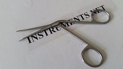 Ear Ent Forceps Hartman Alligator 2.5 Surgical 1cm Jaws Serrated Instruments