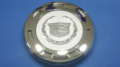 "2007-2014 CADILLAC ESCALADE 22"" WHEELS CHROME CENTER CAP W/ RING 9596649"