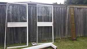Free glass doors x2 Concord West Canada Bay Area Preview