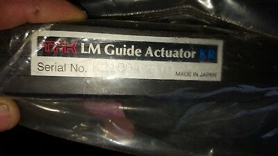Thk Linear Motion Guide Actuator Kr3310a600l0-0x0  New Sealed Package
