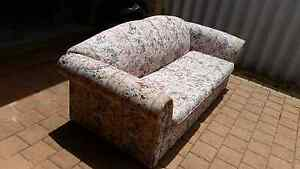 Sofa bed couch lounge double bed pull fold out mattress floral Beeliar Cockburn Area Preview
