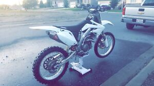 Clean 06 Honda CRF450R TRADE for sled