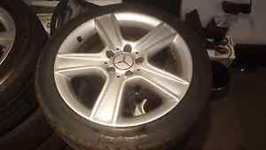"Mercedes Benz 17"" wheels with 245 40 17 tyres Margate Redcliffe Area Preview"