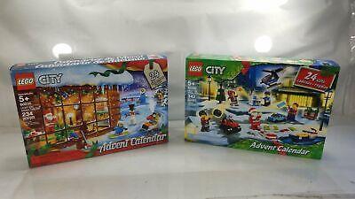 New Lego City Advent Calendar 60235 & 60268 Factory Sealed Sets 2019, 2020 #17
