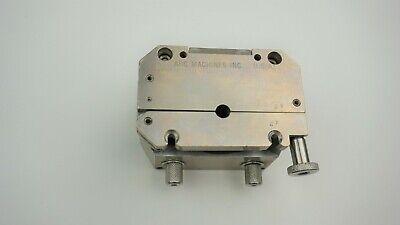 Arc Machines Ami Orbital Welding Model 9ct Cassette Type .250 14 Collets Clamp