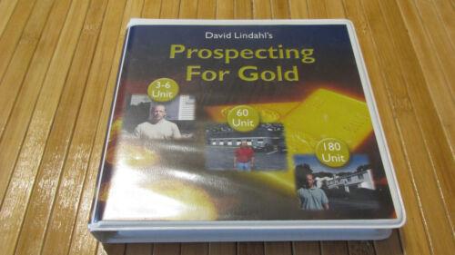 David Lindahl Prospecting for Gold 3 DVD set & bonus mentor consultation