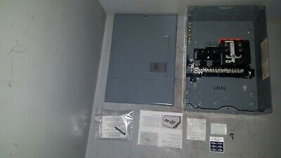 Square D Qo Load Center 120240v 100a 3w 1ph Series G3 Qo8-16l-100ds