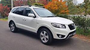 2012 Hyundai Santa Fe Wagon Leura Blue Mountains Preview