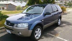 2008 Ford Territory Wagon Youngtown Launceston Area Preview
