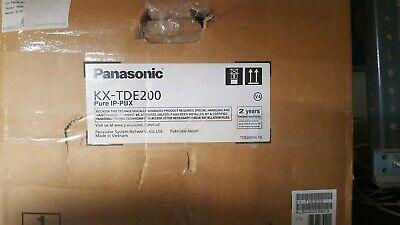 Panasonic Kx-tde200 Hybrid Ip Pbx System W Ipcmpr Processor- New Open Box