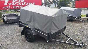 6×4  Heavy Duty Trailer With Cage And Canvas - BAYSWATER 3153 Bayswater Knox Area Preview
