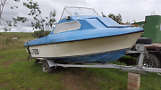 Cabin boat 14.5ft Kilcoy Somerset Area Preview