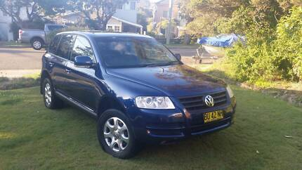 2004 Volkswagen Touareg Wagon Newport Pittwater Area Preview