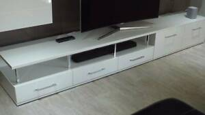 TV UNIT - 2 Pieces - Avilla - Limited Numbers - White