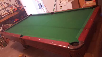 Pool table Thornton Maitland Area Preview