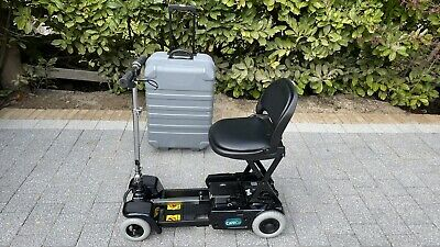 CareCo Scootcase Folding Portable Travel Mobility Scooter - Blue