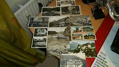 13 alte Postkarten
