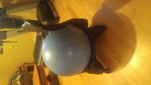 Stability ball chair