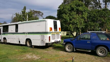 Isuzu Bus Motorhome Conversion