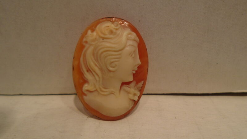 Small Cameo Shell For Pendant