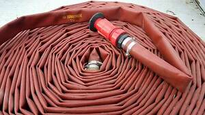 """Firefighting hose & nozzle 30m x 1.5"""" Cygnet Huon Valley Preview"""