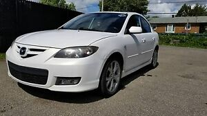 Mazda 3 Berline GT automatique/toit/aileron/mags/banchs chauffan