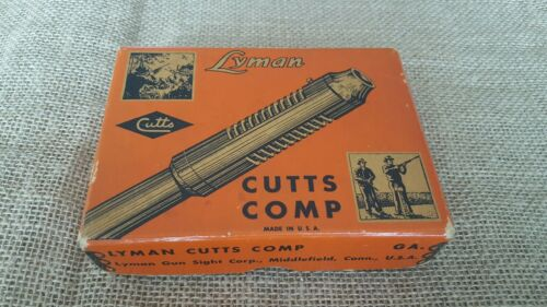 Vintage Lyman Cutts Compensator Collectible Factory Box