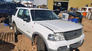 Wrecking  Ford Explorer Paringa Renmark Paringa Preview