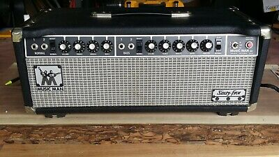 vintage guitar amplifier 1975 65 watt music man tube amplifier head