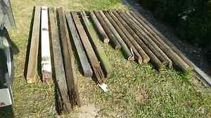 18 chook pen fence posts 100mm coppers logs hardwood Narangba Caboolture Area Preview