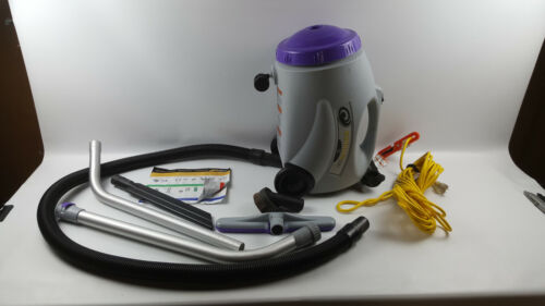 ProTeam 106896 Commercial Canister Vacuum Cleaner, RunningVac 10 Quart Wand