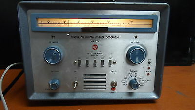 Vintage Rca Crystal Calibrated Marker Generator Model Wr-99a