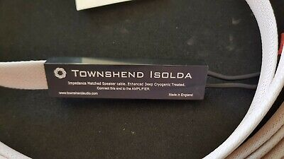 Townsend DCT Isolda Speaker Cables  3 Meters