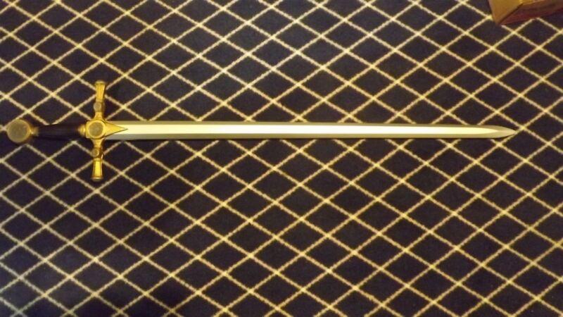 "LARGE FOAM Mason Masonic Sword 45"" HERO"