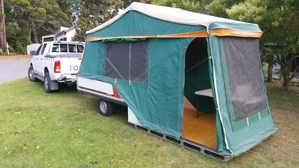 Camper trailer cub
