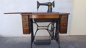 1917 SINGER TREADLE SEWING MACHINE. Urgent Sale. Make an offer Tullamarine Hume Area Preview