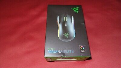 Razer Mamba Elite Wired Gaming Mouse: 16000 DPI Optical Sensor - Chroma RGB NEW